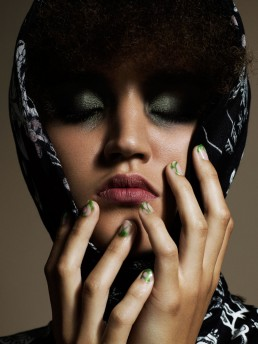 Schön! Magazine - Domen / Van De Velde - nails by Frédérique Olthuis