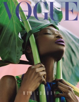 Vogue Portugal - Dan Beleiu - nails by Frédérique Olthuis